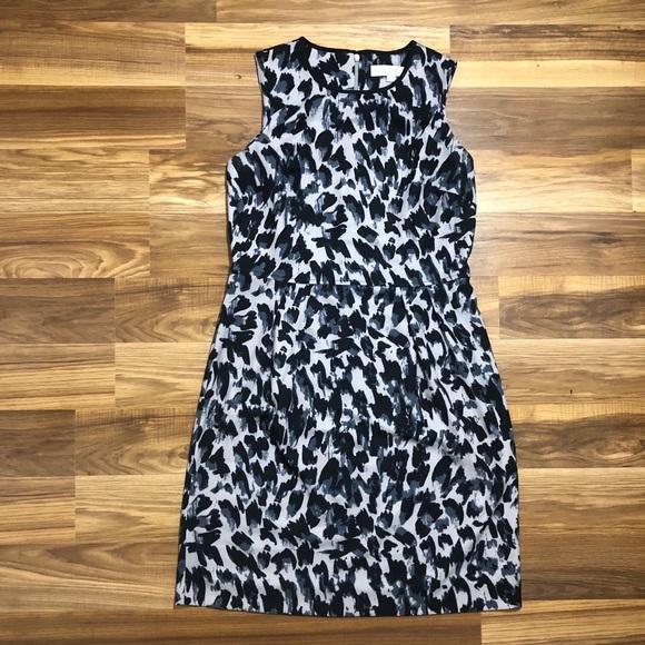 442e379a295dd LOFT Dresses   Skirts - Ann Taylor Loft Cheetah Print Sheath Dress Size 4